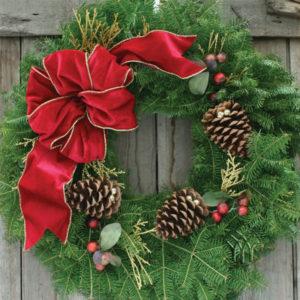Cranberry Splash Wreath